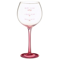 Wine Glass with Foil Decal - Mum's Wine