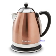 Goodmans Diamond Copper Kettle 1.7L