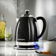 Goodmans Diamond Sparkle Kettle - Black