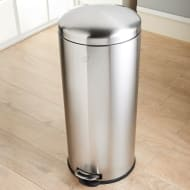 Addis Soft Close Kitchen Bin 30L - Stainless Steel