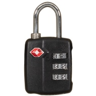 TSA Luggage Combination Lock - Black