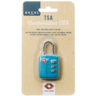 TSA Luggage Combination Lock - Teal