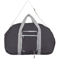 Foldable Duffel Bag - Black