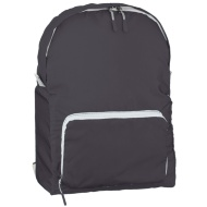 Foldable Back Pack - Black
