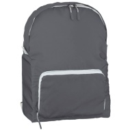 Foldable Back Pack - Cool Grey