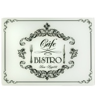 Glass Chopping Board - Bistro