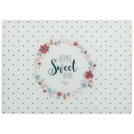 Glass Chopping Board - Home Sweet Home