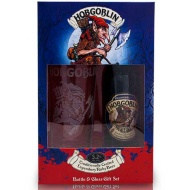 Hobgoblin Bottle & Glass Set