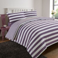 Oxford Stripe Complete Bed Set - King Size