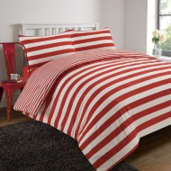 Oxford Stripe Complete Bed Set - Single