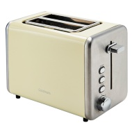 Goodmans 2-Slice Stainless Steel Toaster - Cream