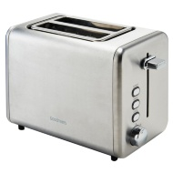 Goodmans 2-Slice Stainless Steel Toaster - Silver