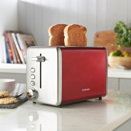 Goodmans 2-Slice Stainless Steel Toaster