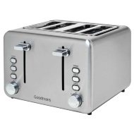 Goodmans 4 Slice Toaster - Stainless Steel