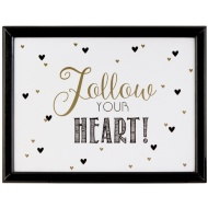 Cushioned Lap Tray - Follow Your Heart