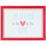 Cushioned Lap Tray - Kitchen is the Heart of the Home