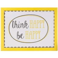Cushioned Lap Tray - Think Happy Be Happy