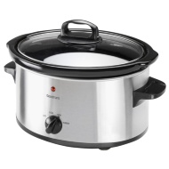 Goodmans 3.5L Slow Cooker - Stainless Steel