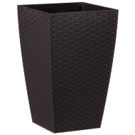 Venice Rattan Effect Decorative Planter 45cm