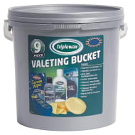 Triplewax Valeting Bucket 9pc