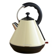 Goodmans Pyramid Kettle 1.8L - Cream