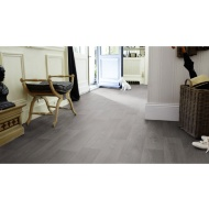 Kingmann Warkworth Grey Oak Effect Vinyl Flooring 2 x 3m Roll