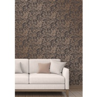 Fine Decor Tranquility Tree Wallpaper - Copper