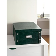 Croc Paper Storage Box Large - Green