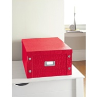 Croc Paper Storage Box Large - Red