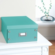 Plain Paper Storage Box Large - Teal