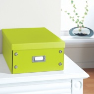 Plain Paper Storage Box Large - Lime Green