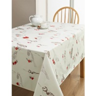 PVC Wipe Clean Tablecloth - Birds