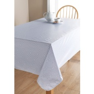 PVC Wipe Clean Tablecloth - Geo