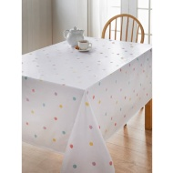 PVC Wipe Clean Tablecloth - Pastel Spot