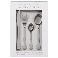 Stainless Steel Cutlery Set 16pc