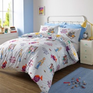 Roald Dahl Charlie and the Chocolate Factory Duvet Set - Double