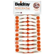 Beldray Premium Soft Grip Pegs 20pk