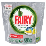 Fairy Platinum All in One Dishwasher Capsules 18pk