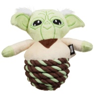 Star Wars Rope Ball Dog Toy - Yoda