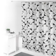 Beldray Printed Shower Curtain - Geo