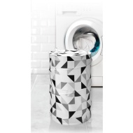 Beldray Pop-Up Laundry Hamper - Geo Triangles