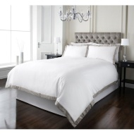 Oxford Edge 300 Thread Count Duvet Set - King Size