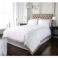 Oxford Edge 300 Thread Count Duvet Set - Double