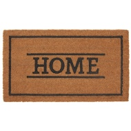 Rubber & Coir Doormat - Home