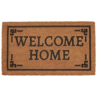 Rubber & Coir Doormat - Welcome Home