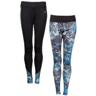 Ladies Active Leggings 2pk