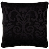 Dallas Chenille Cushion - Black