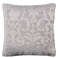 Dallas Chenille Cushion - Silver