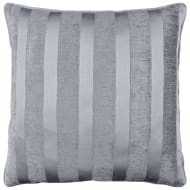 Manhattan Chenille Cushion - Charcoal