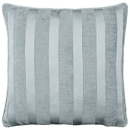 Manhattan Chenille Cushion - Duck Egg